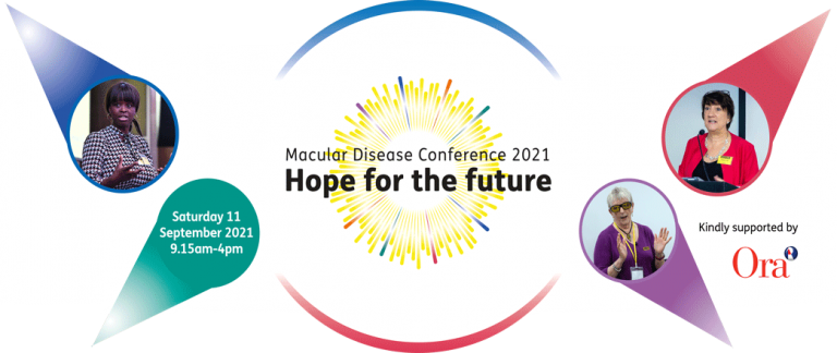 Macular disease Conference 2021 Hope For the Future - Saturday the 11 of September 2021 `9:15 AM to 4:15 PM